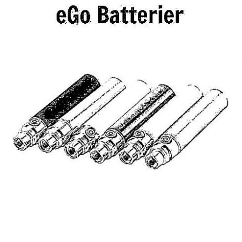 e-cigaret ego batterier